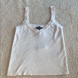 DYNAMITE white tank top